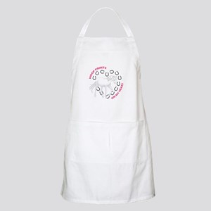 HOOF PRINTS ON MY HEART Apron