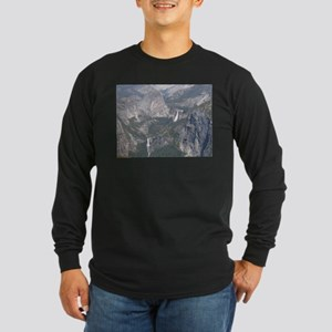 View From Washburn Point Long Sleeve Dark T-Shirt