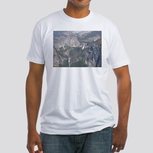 View From Washburn Point Fitted T-Shirt