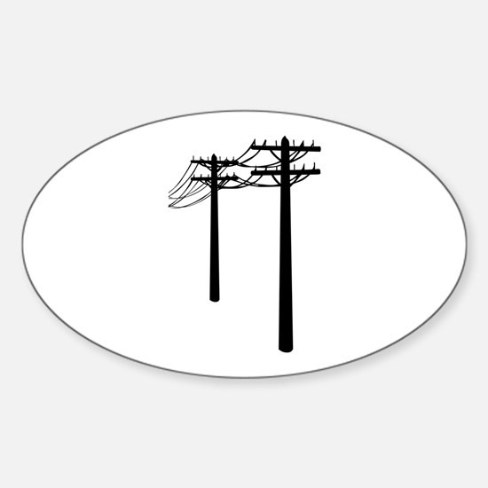 Utility Lines Decal