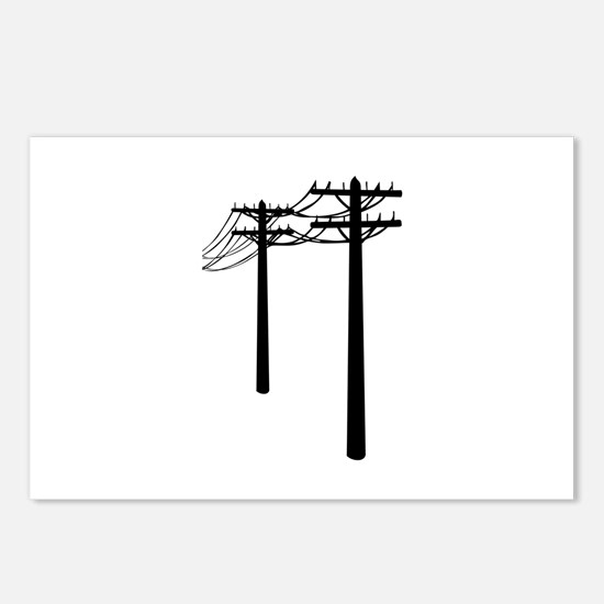 Utility Lines Postcards (Package of 8)
