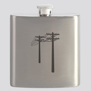 Utility Lines Flask