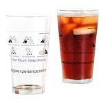 The Pivot Take Down Drinking Glass