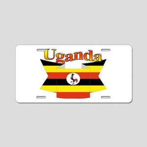 Ugandan ribbon Aluminum License Plate