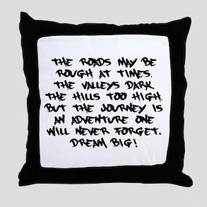 Adventurous Journey Throw Pillow