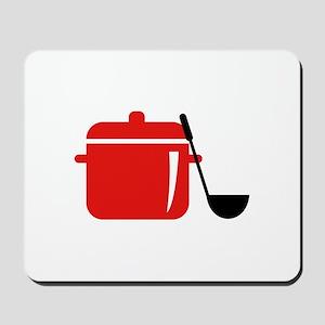Pot And Ladle Mousepad