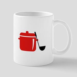 Pot And Ladle Mugs