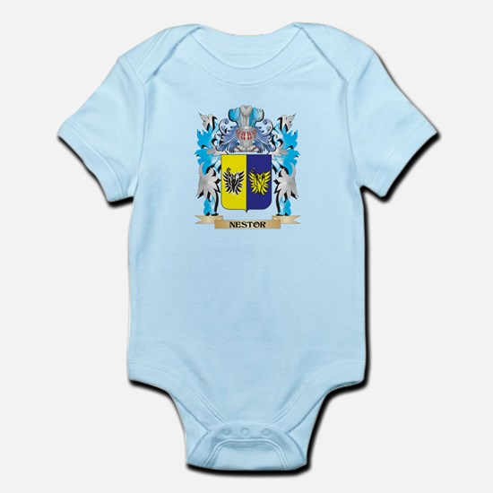 Nestor Coat of Arms - Family Crest Body Suit
