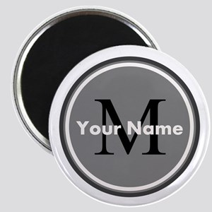 Custom Initial And Name Magnets