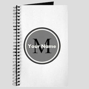 Custom Initial And Name Journal