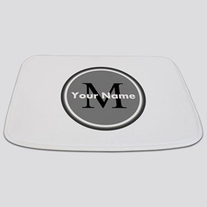 Custom Initial And Name Bathmat