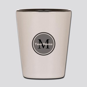 Custom Initial And Name Shot Glass