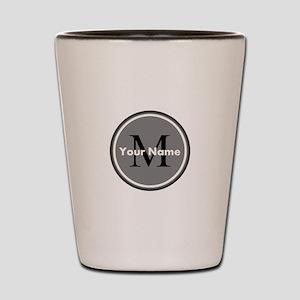 Custom Initial And Name Shot Glass