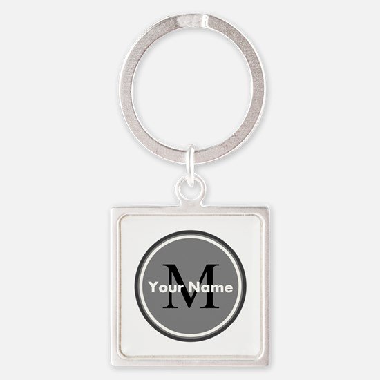 Custom Initial And Name Keychains