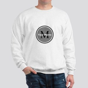 Custom Initial And Name Sweatshirt