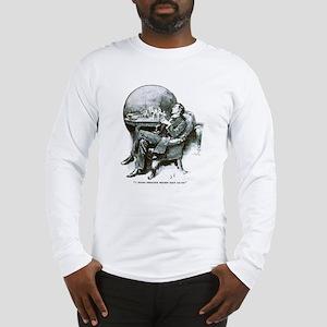 Holmes Half Asleep Long Sleeve T-Shirt