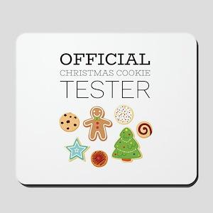 Christmas Cookie Tester Mousepad