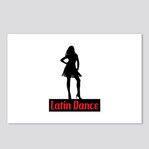 Latin Dance Postcards (Package of 8)