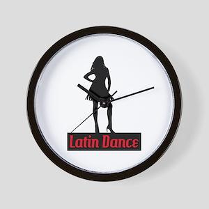 Latin Dance Wall Clock