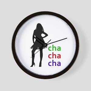 Cha Cha Cha Wall Clock