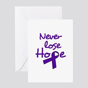 Never Lose Hope Greeting Cards