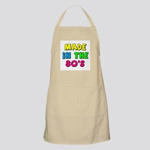 Made in the 80s Apron