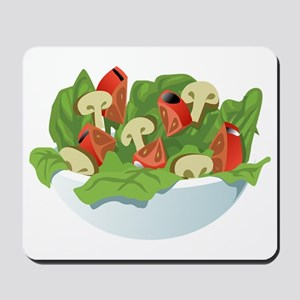 Bowl Of Salad Mousepad
