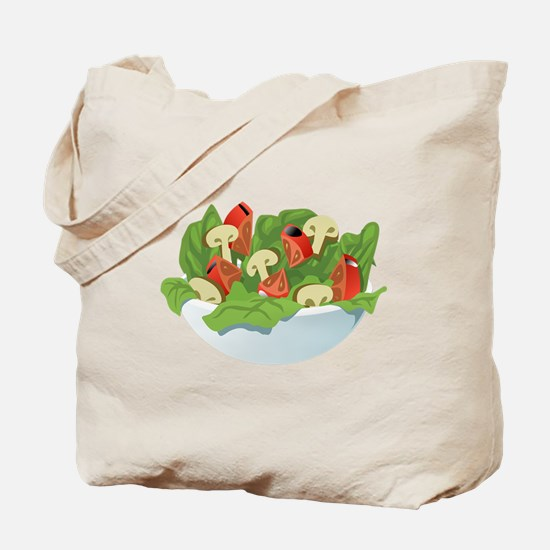 Bowl Of Salad Tote Bag