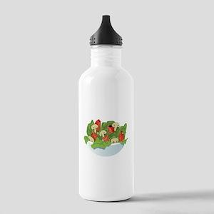 Bowl Of Salad Water Bottle