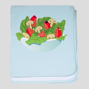 Bowl Of Salad baby blanket