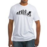 Mountain Bike Evolution Fitted T-Shirt