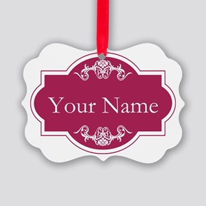 Add Your Name Ornament