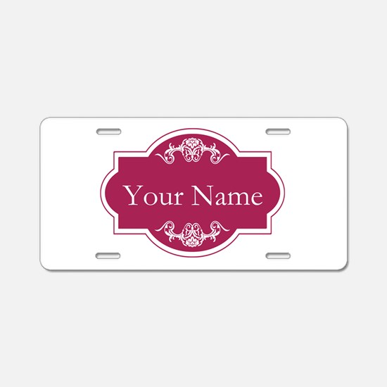 Add Your Name Aluminum License Plate