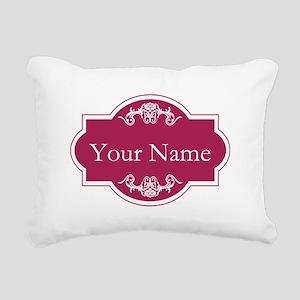Add Your Name Rectangular Canvas Pillow