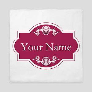 Add Your Name Queen Duvet