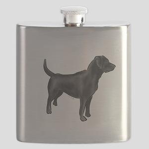 labrador retiever black Flask