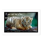 Tiger Coat Postcards (Package of 8)