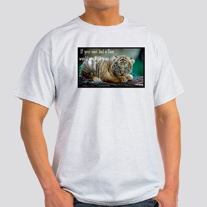 Tiger Coat Light T-Shirt