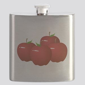 Red Apples Flask