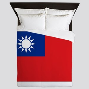 ROC flag Queen Duvet