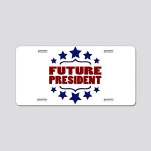 Future President Aluminum License Plate