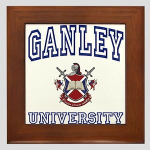 GANLEY University Framed Tile