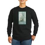Wolf Coat Long Sleeve Dark T-Shirt
