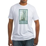 Wolf Coat Fitted T-Shirt