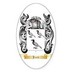 Jaan Sticker (Oval 10 pk)