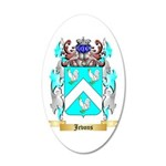 Jevons 20x12 Oval Wall Decal