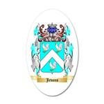 Jevons 35x21 Oval Wall Decal