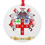 Jett Round Ornament