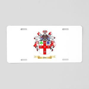 Jett Aluminum License Plate