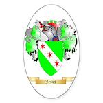 Jesus Sticker (Oval 10 pk)